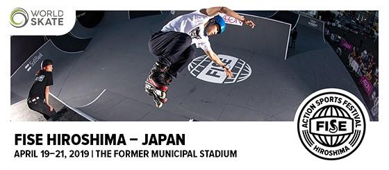 World Cup Roller Freestyle FISE Hiroshima