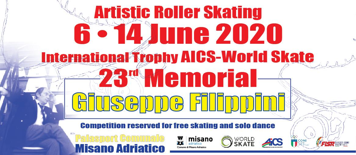 Filippini International 2020 - World Skate 23rd edition