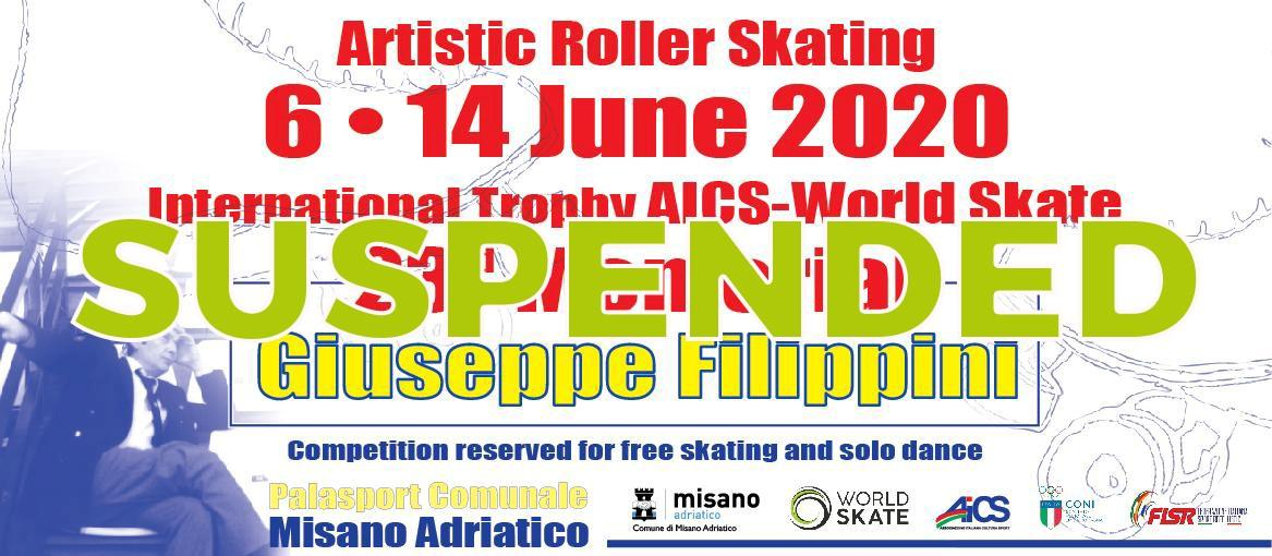 SUSPENDED: Filippini International 2020 - World Skate 23rd edition