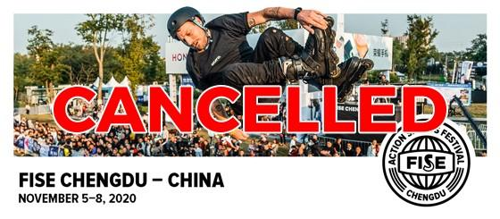 CANCELLED: World Cup Roller Freestyle FISE Chengdu