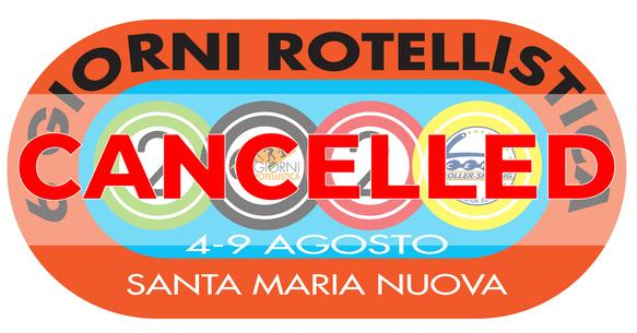 CANCELLED: European Cup Inline Speed Skating 2020: 6 giorni rotellistica