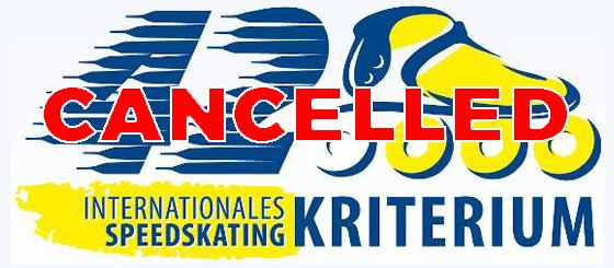 CANCELLED:European Cup Inline Speed Skating 2020: 42. Internationales Speedskating Kriterium Groß-Gerau